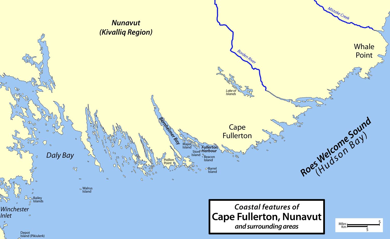 Cape Fullerton Canada Map Cape Fullerton   Wikipedia