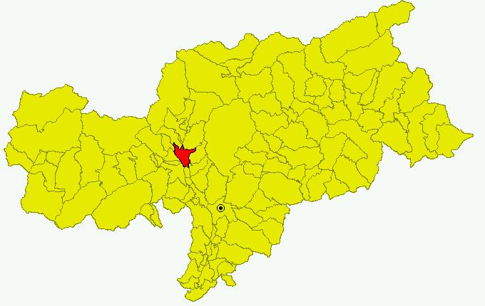 File:Cartina Comune BZ Merano.png