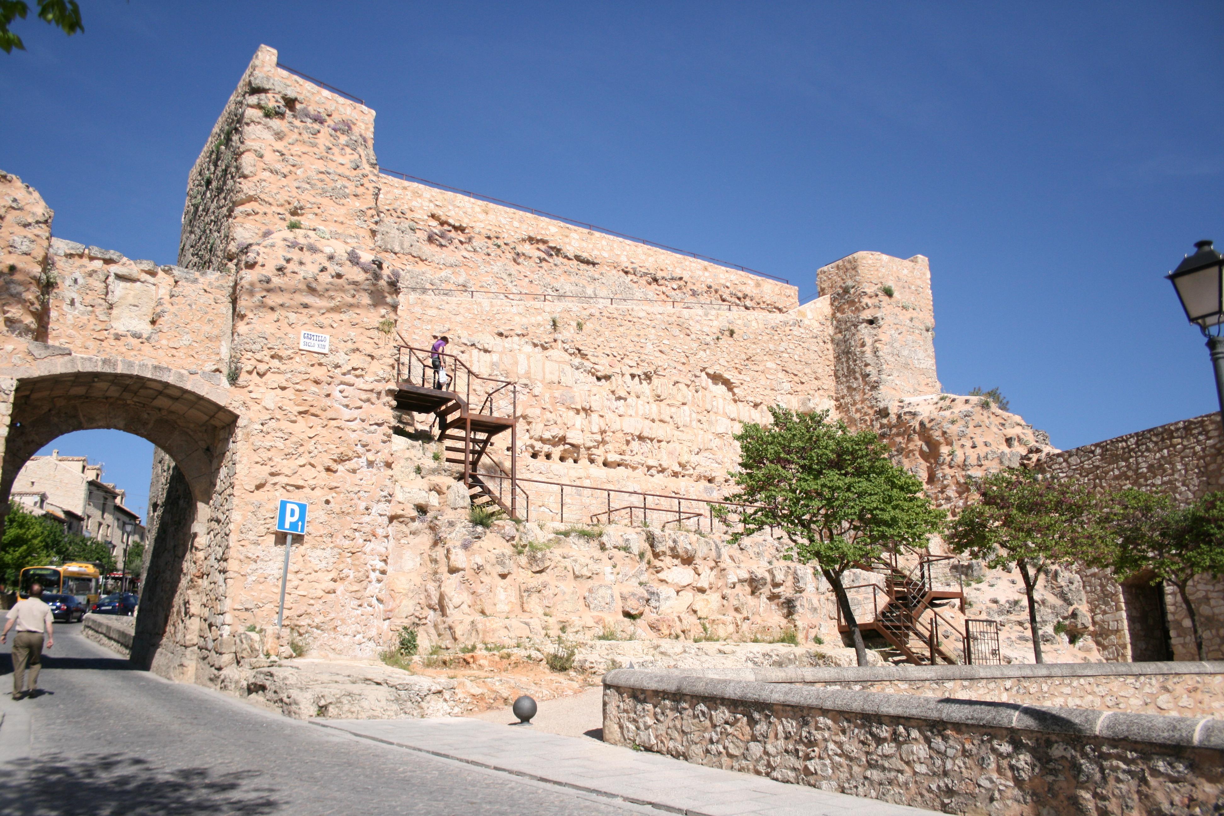 Resultado de imagen de Ruinas del Castillo cuenca