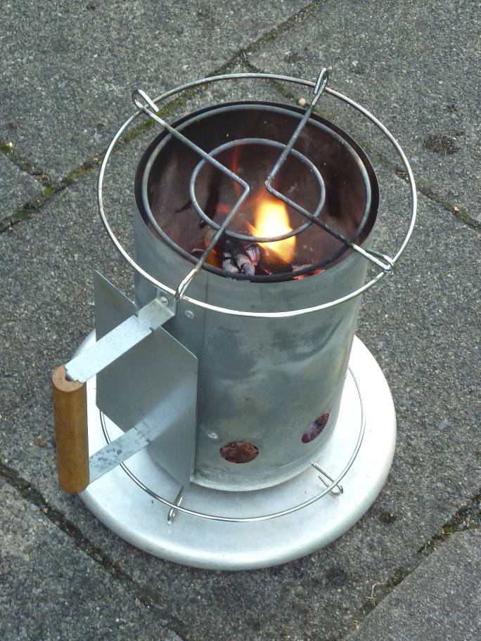 File Chimney Starter Used As Hobo Stove 03 Jpg Wikimedia