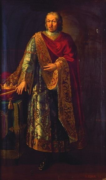 Juan II de Aragón por Manuel Aguirre y Monsalbe