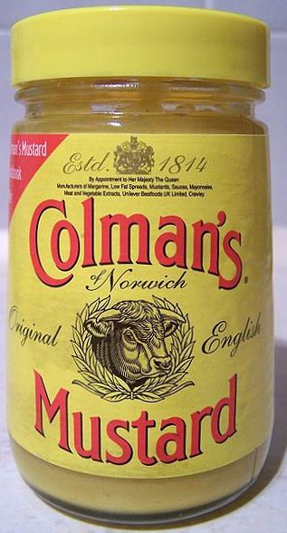 If really depressed how would you go onto the next life ? Colmans_mustard_jar