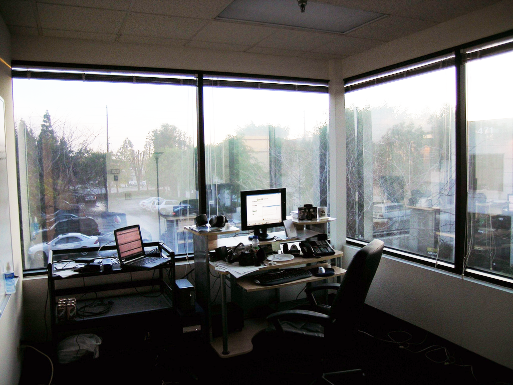 Corner office wikipedia for New window company