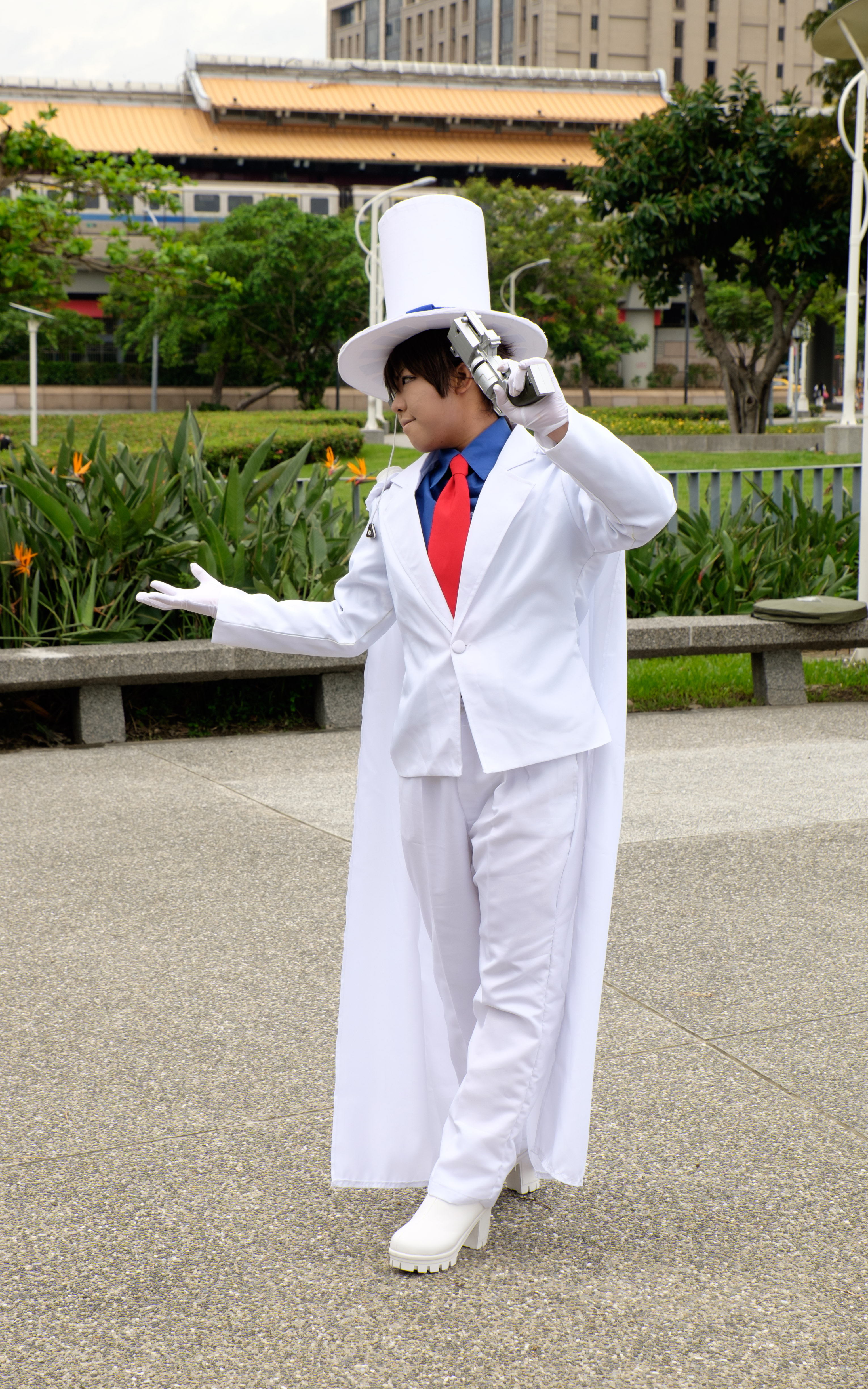 File Cosplayer Of Kaito Kid Detective Conan At Ff26 20150829a Jpg Wikimedia Commons