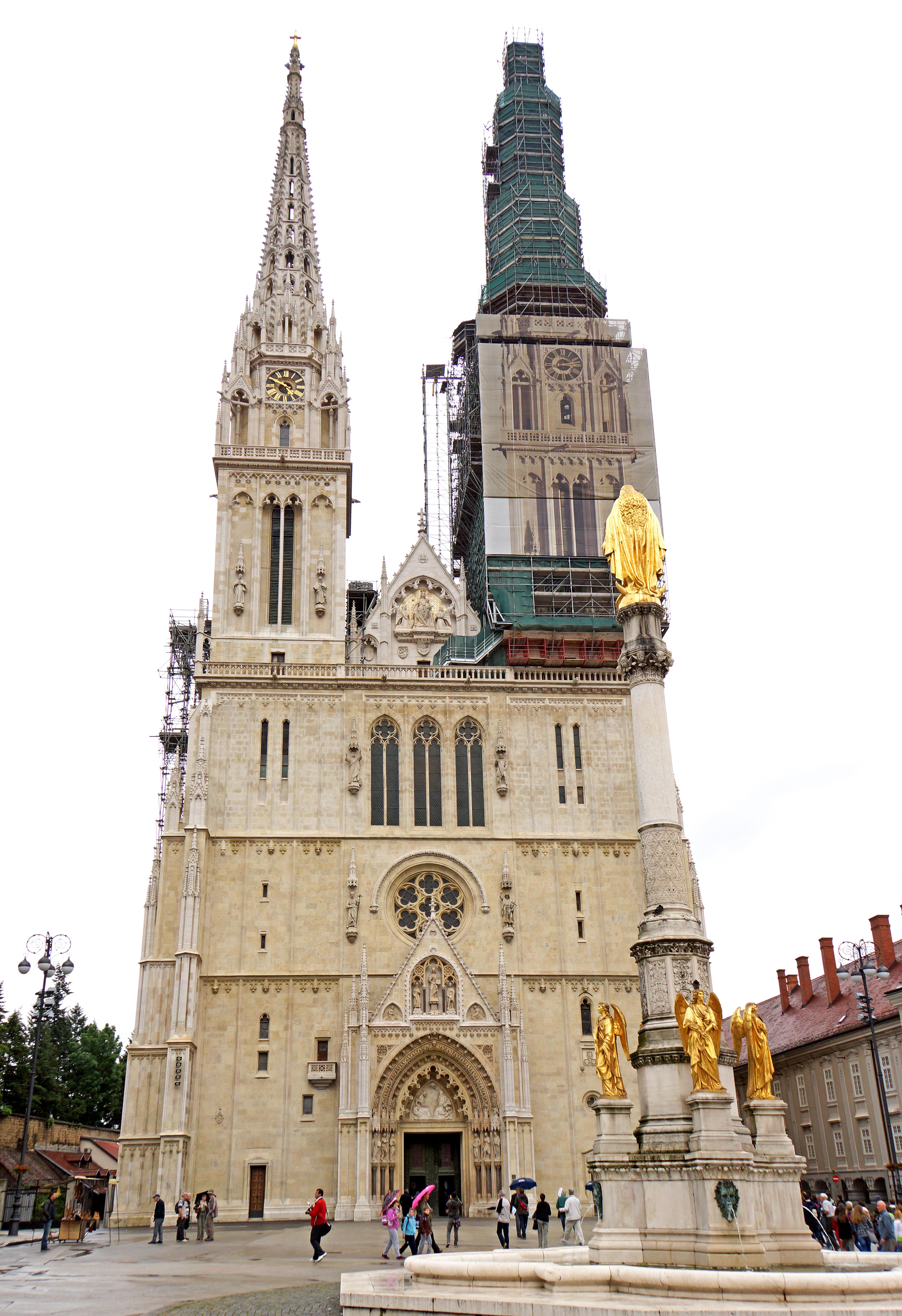 File Croatia 00448 Zagreb Cathedral 9286530138 Jpg Wikimedia Commons