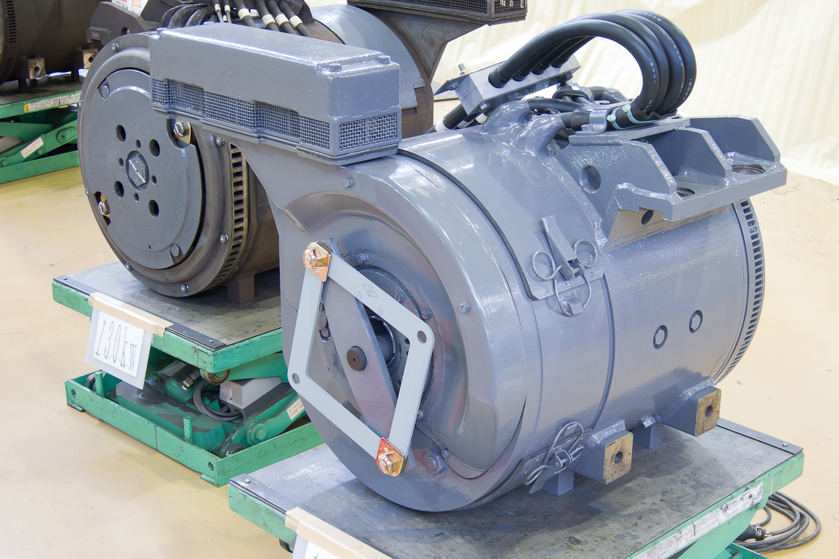 Dc Traction Motor For Railway Pictures