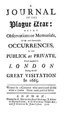 File:Daniel Defoe Journal of the Plague Year.jpg