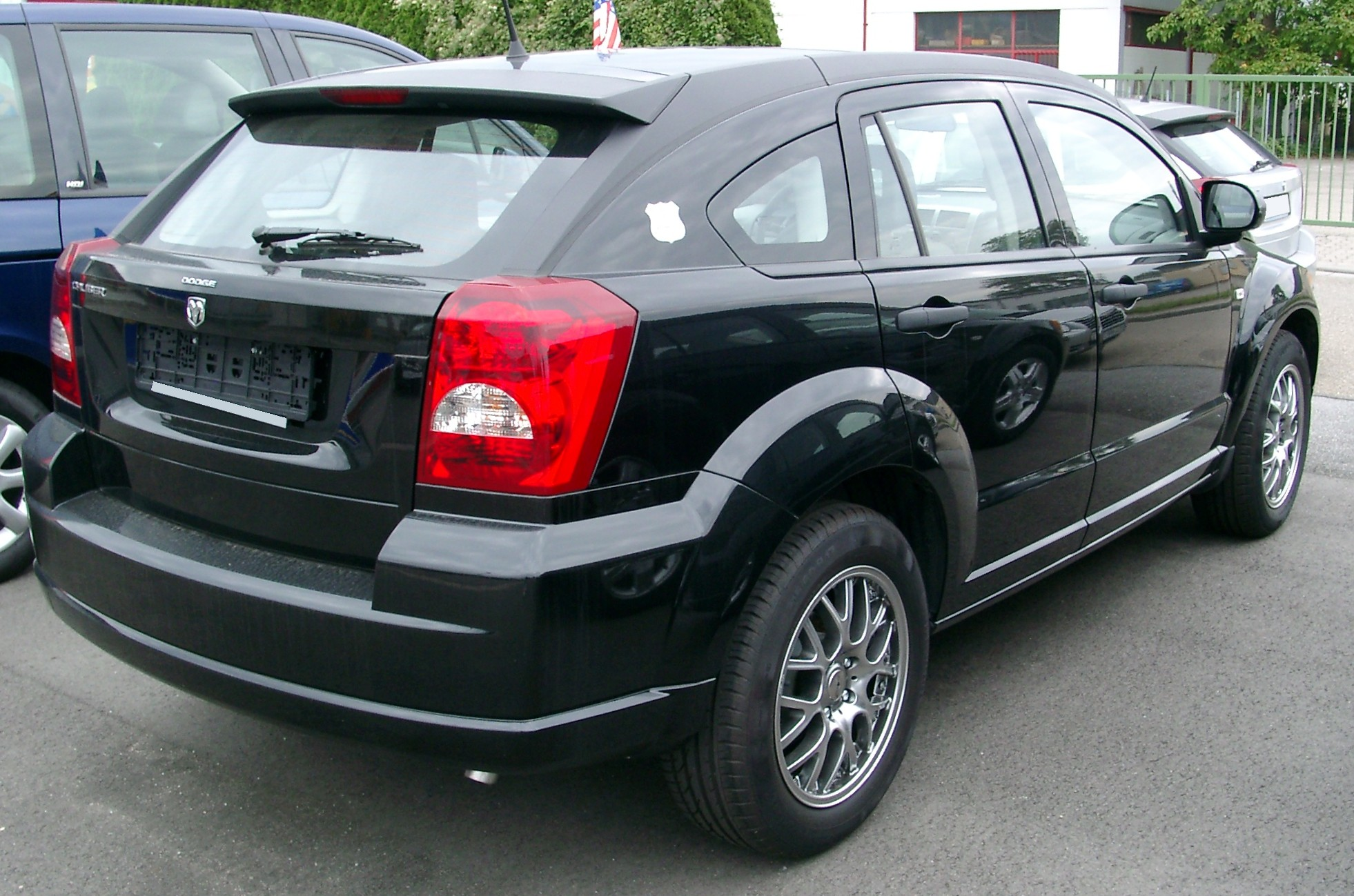 File:Dodge Caliber rear 20070902.jpg - Wikimedia Commons