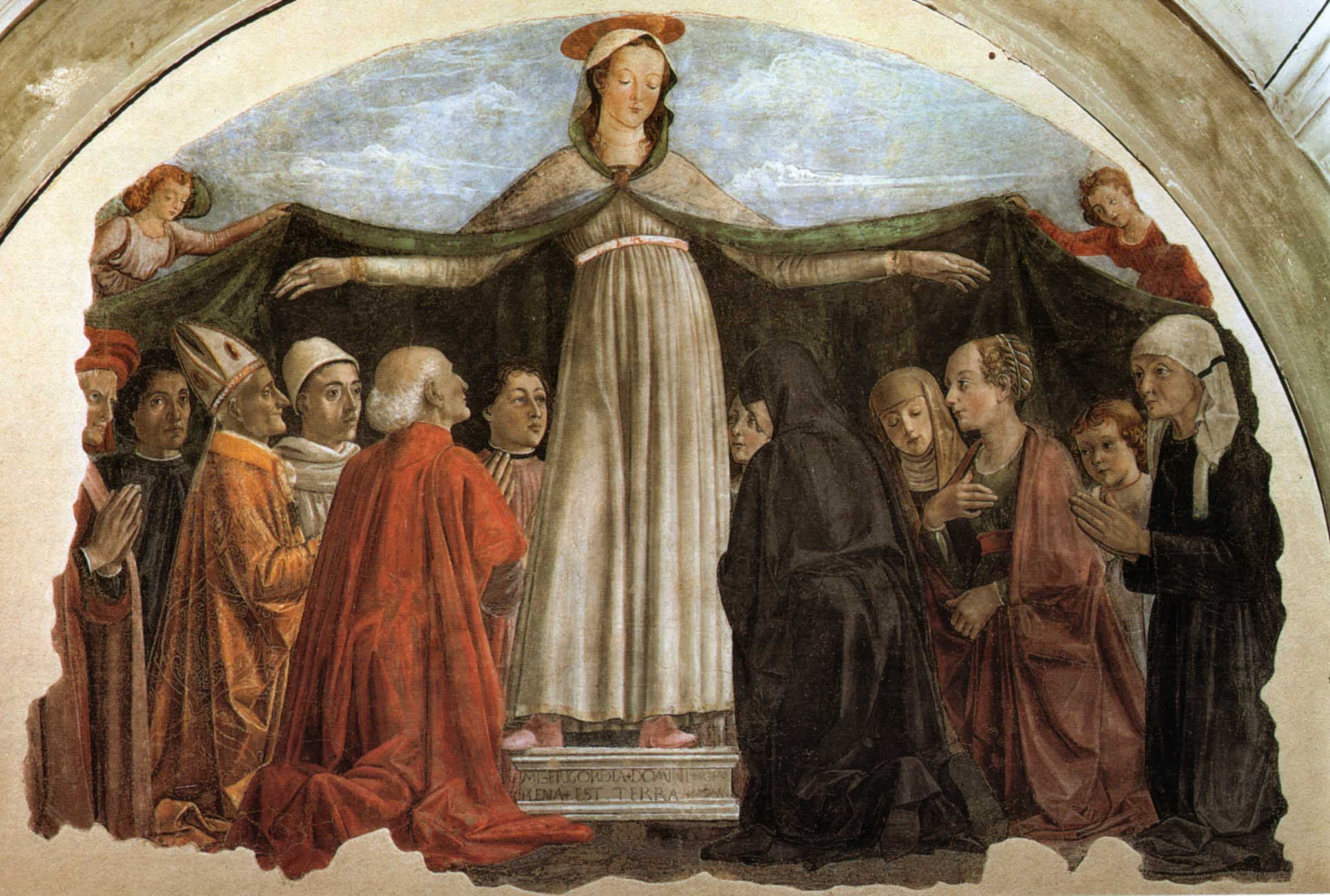 File:Domenico ghirlandaio, madonna della misericordia, ognissanti, Firenze.jpg - Wikimedia Commons
