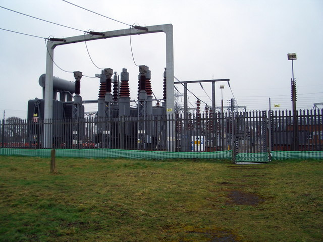 Electric grid Station - geograph.org.uk - 141127