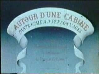 <i>Autour dune cabine</i> 1894 film by Charles-Émile Reynaud