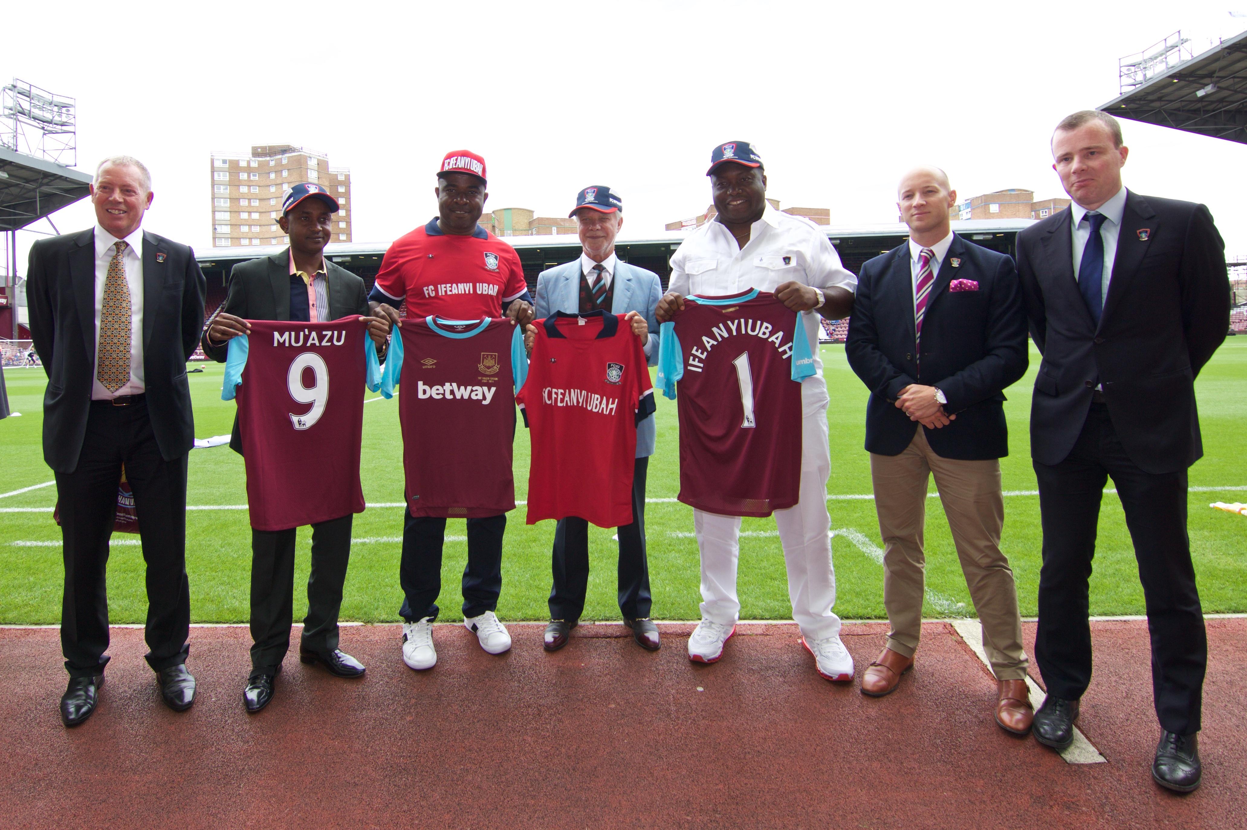 File:FC IFEANYI UBAH visit to WestHam United fc......... 9.jpg - Wikimedia Commons