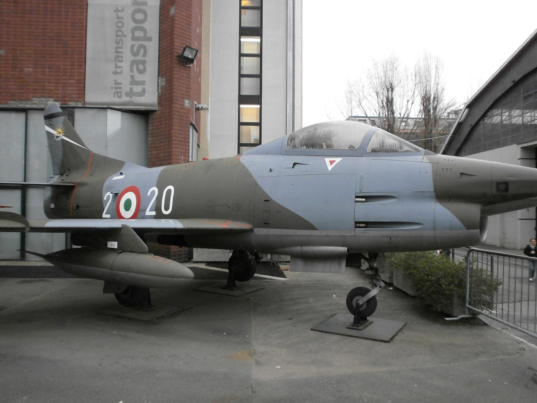 91 r aircraft - museo della scienza e della tecnica - milan - 02