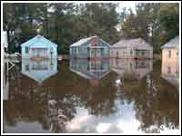 Flooding in Franklin after Hurricane Floyd Floydfranklin.jpg