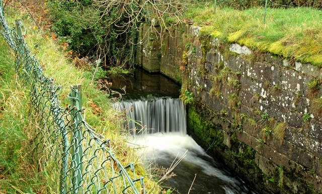 Forsythe's Lock, Newry canal - geograph.org.uk - 1055190