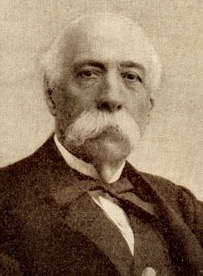 Francesco Crispi promoted the Italian colonialism in Africa in the late 19th century. Francesco Crispi.jpg