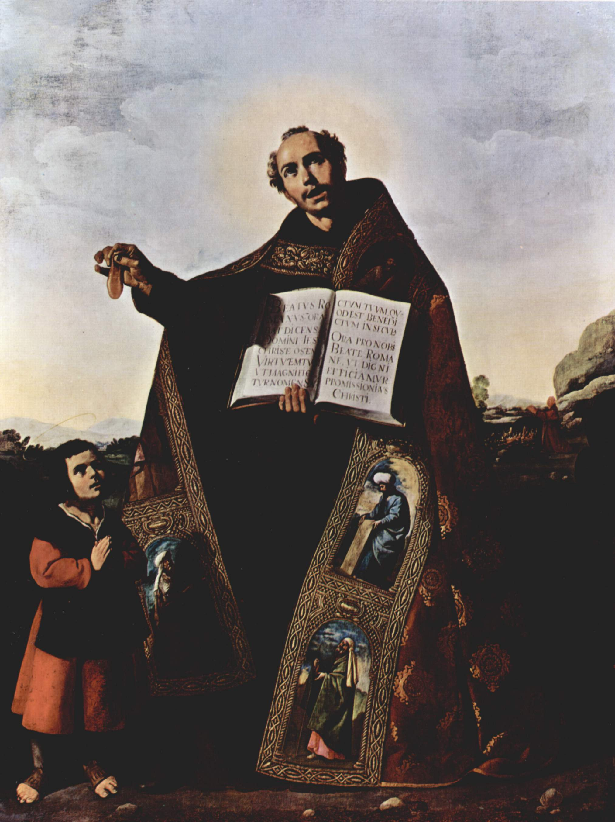 Francisco de Zurbarán (1598-1664): Romanus og Barulas (1638), opprinnelig for San Román i Sevilla, nå i Art Institute i Chicago