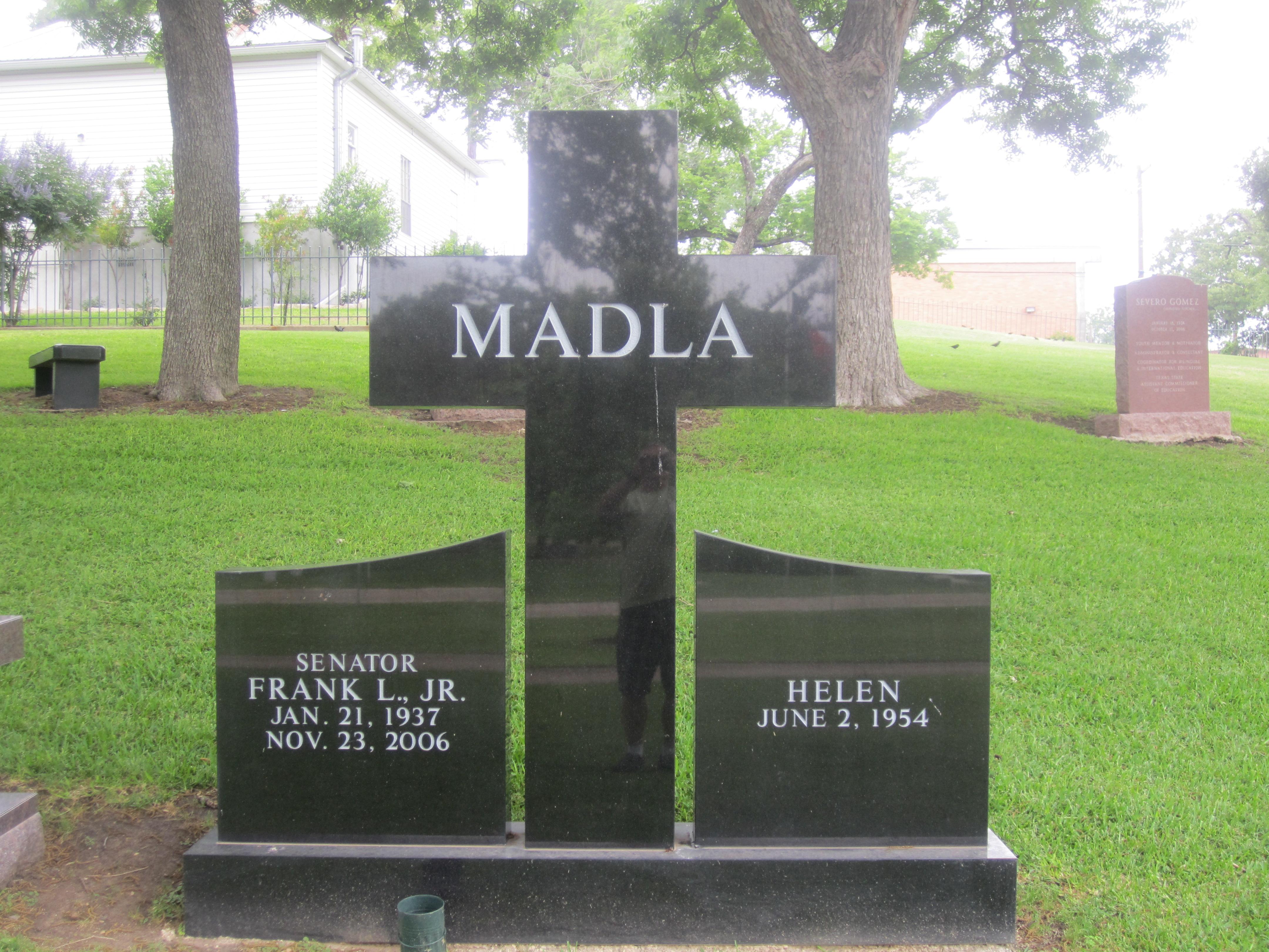 File:Frank Madla grave marker, Austin, TX IMG 2169.JPG