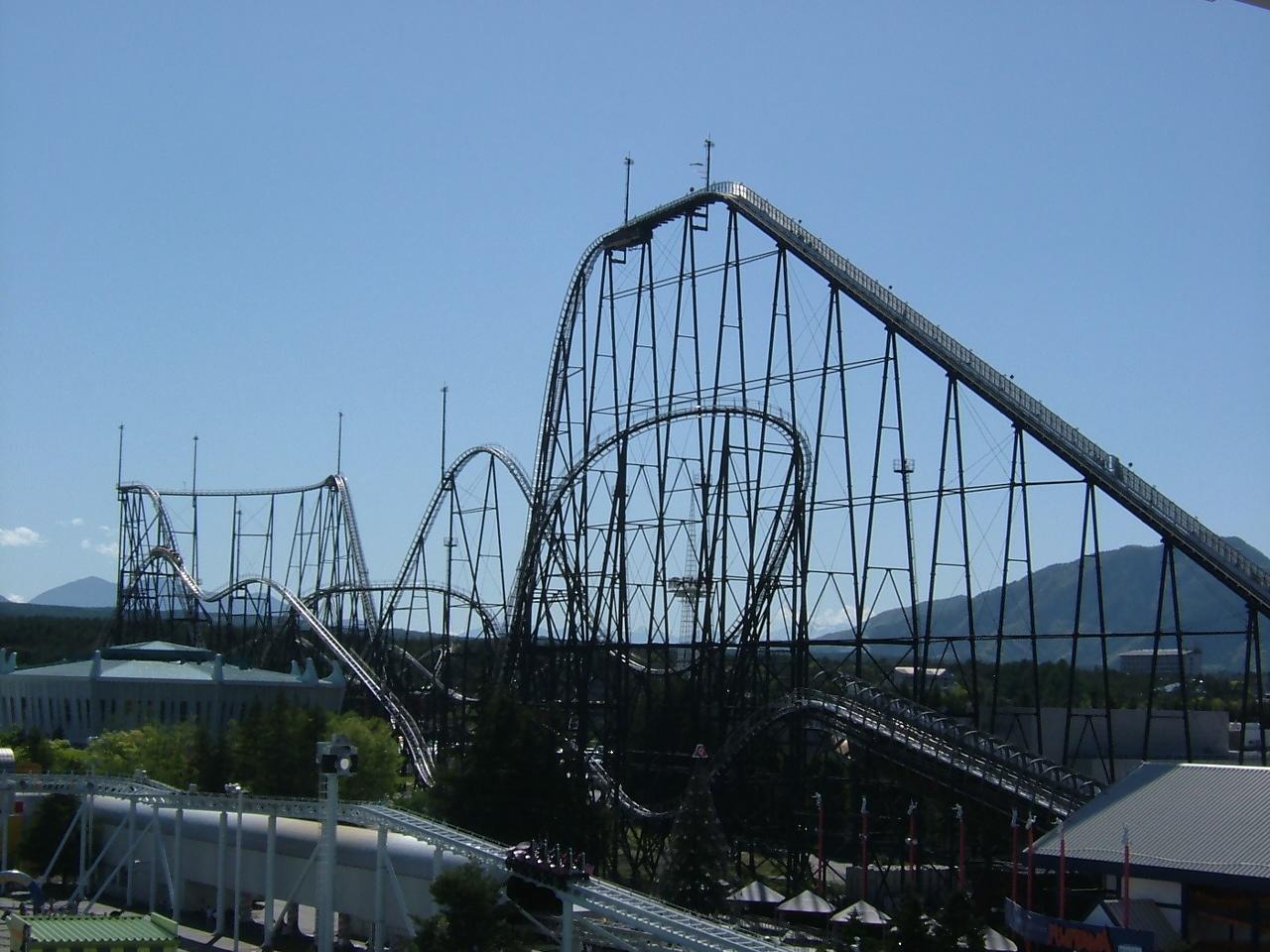 Fujiyama rollercoaster 2005 05