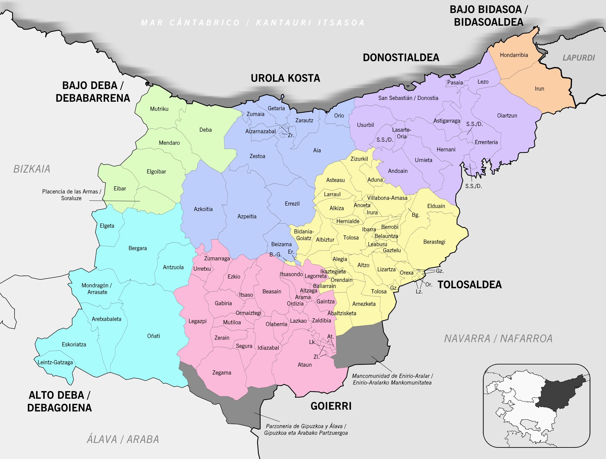 file gipuzkoa municipios udalerriak 2017 png wikimedia