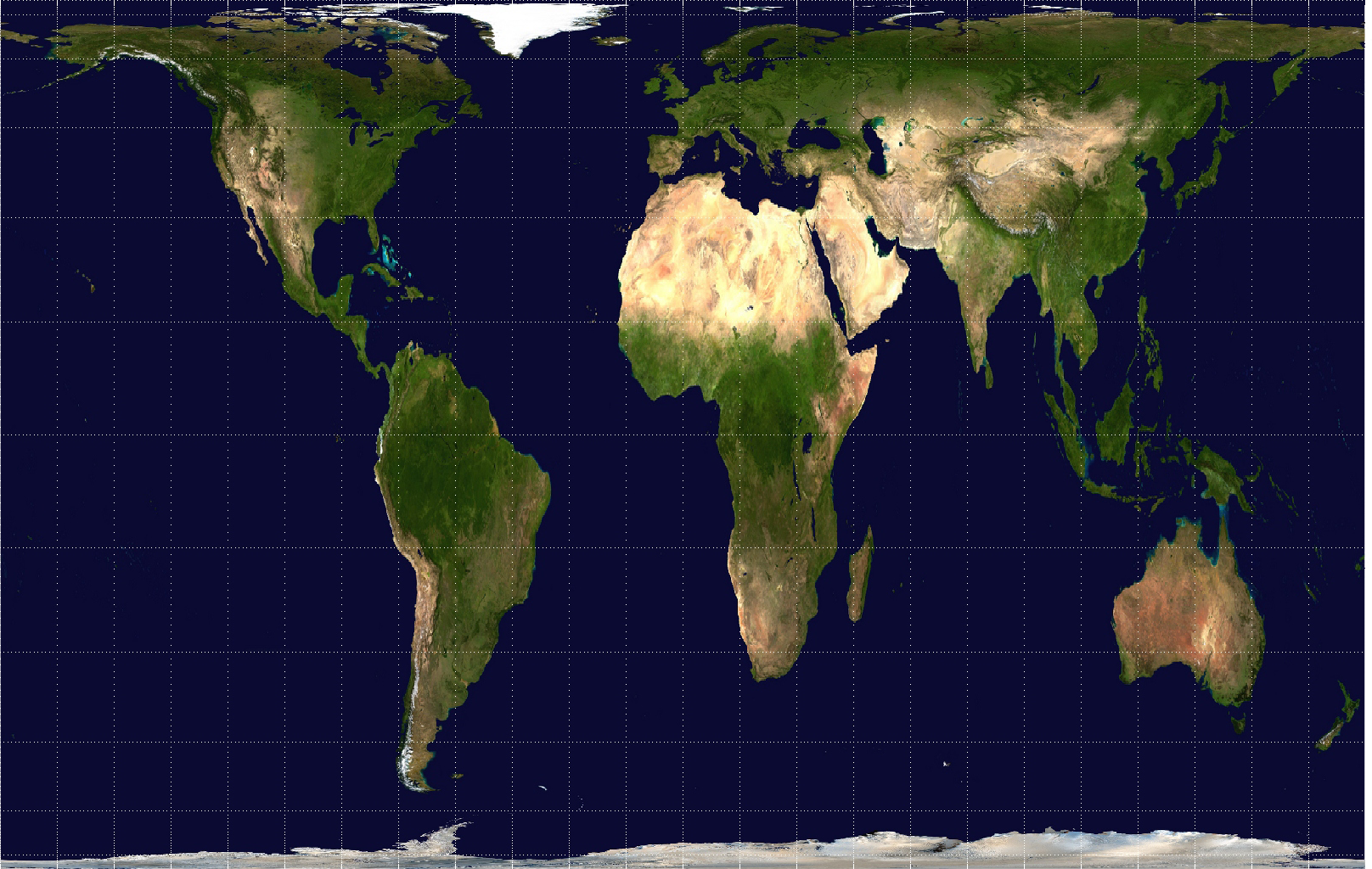 What is the Peters Projection Map?