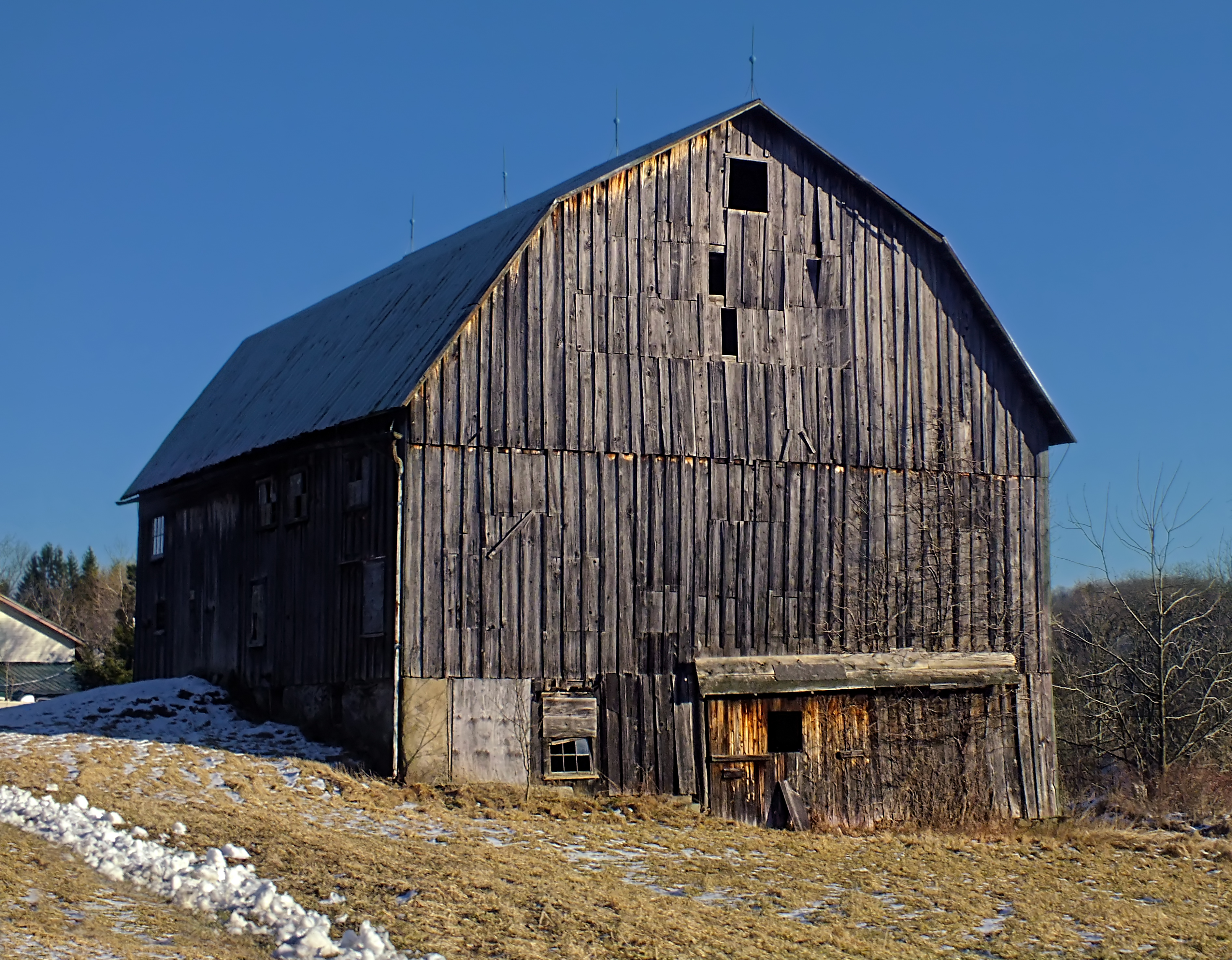 File gambrel style for Gambrel roof barn
