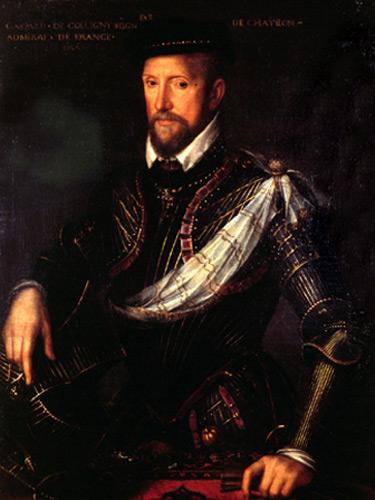 Gaspard II de Coligny.