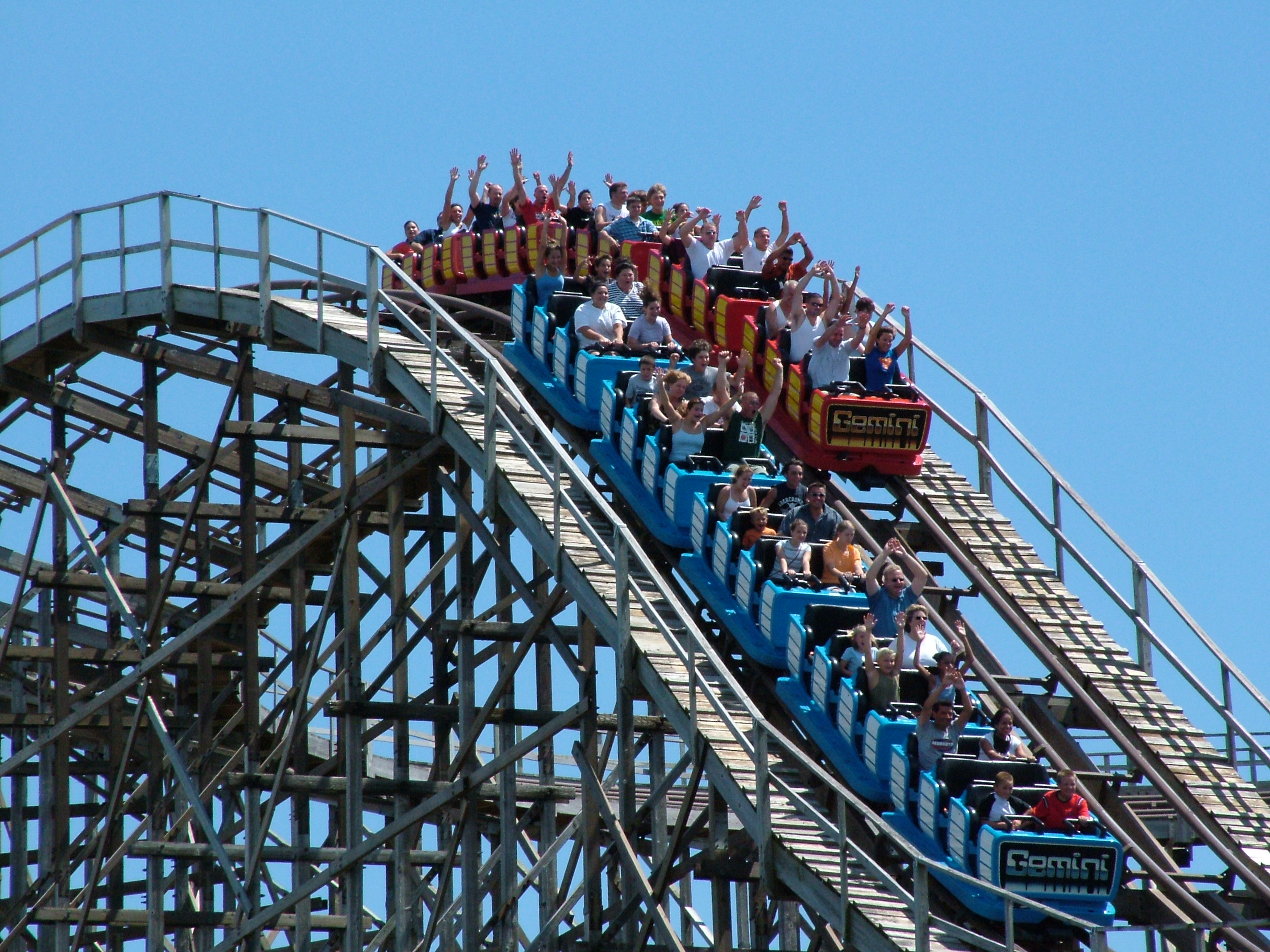 Jr gemini roller coaster - photo#23
