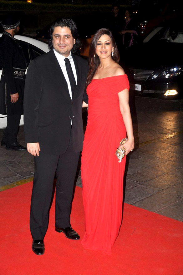Karan Johar With His Wife
