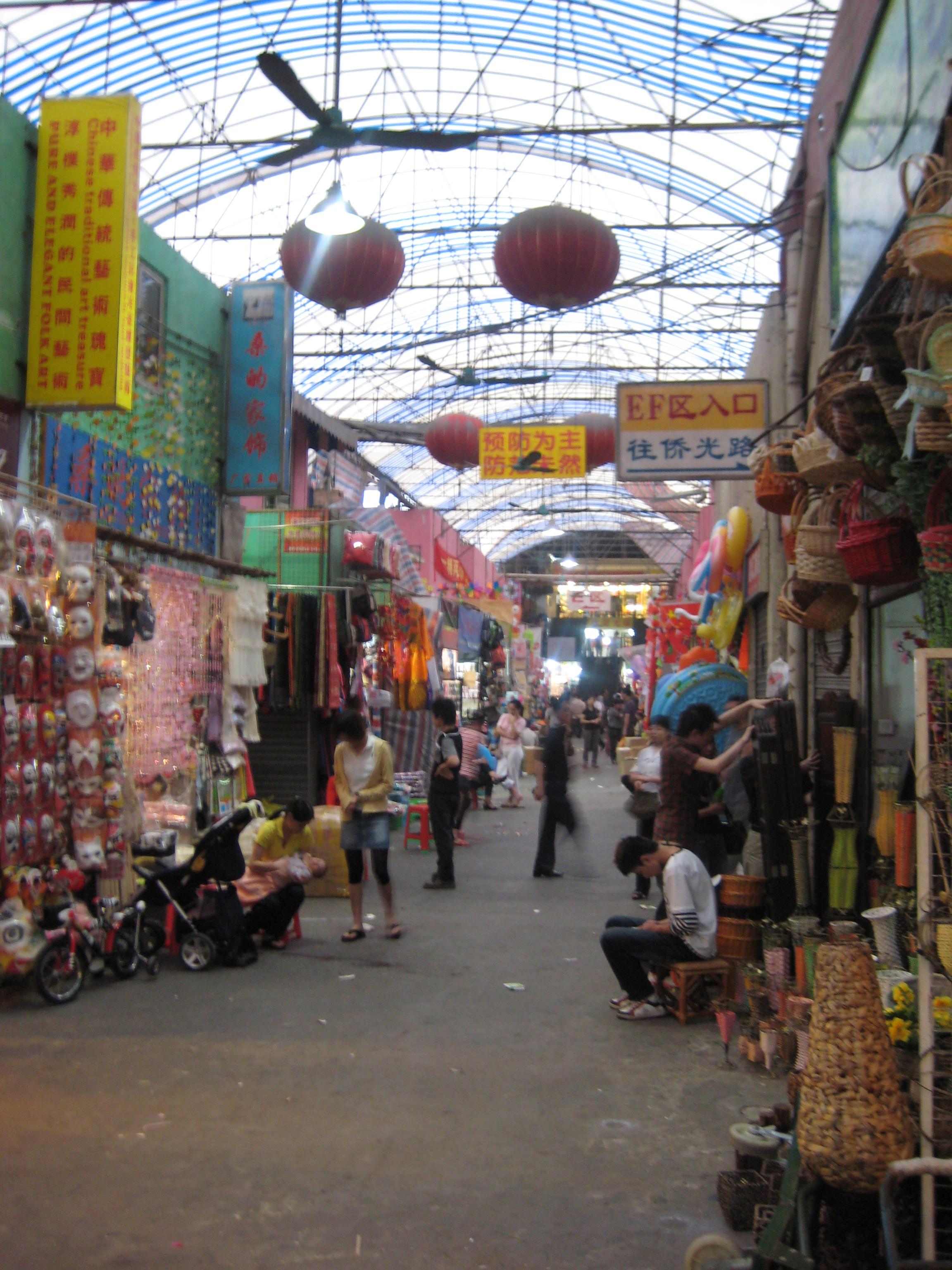Haizhu Wholesale Market in Guangzhou - Shopping in Guangzhou, China - Justgola