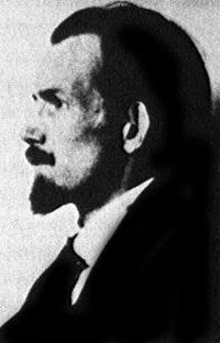 Hans Blüher rond 1920