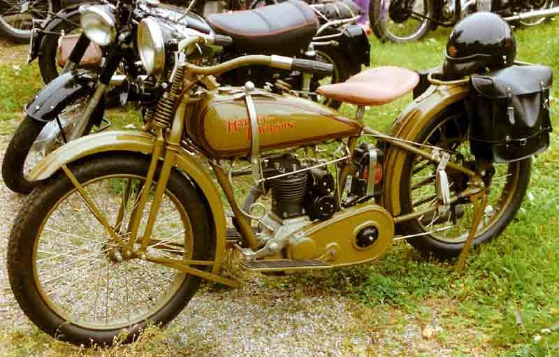 Oldmotodude 1928 Harley Davidson Ohv Peashooter For Sale: Harley Davidson 350