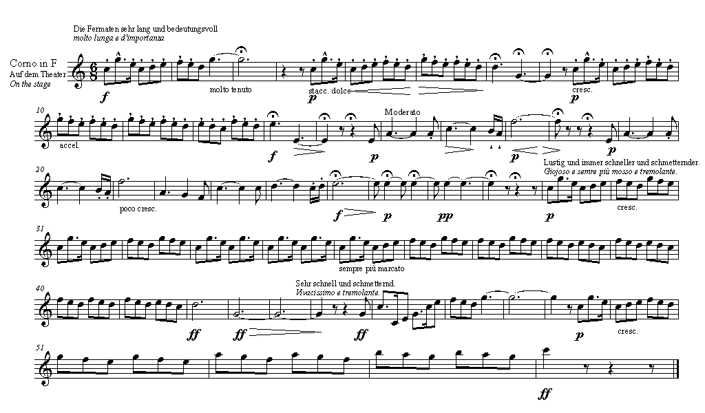 All Music Chords french horn sheet music : Horn/Repertoire/Orchestral Excerpts/Wagner, R. - Siegfried (the ...