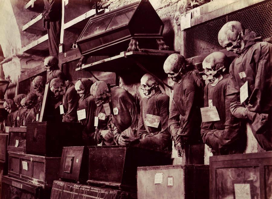 Catacombes des Capucins à Palerme - Photo de  Giuseppe Incorpora