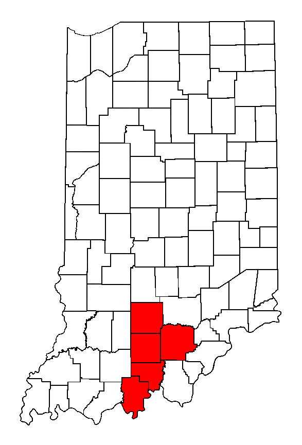 Image Result For Map Of Indiana