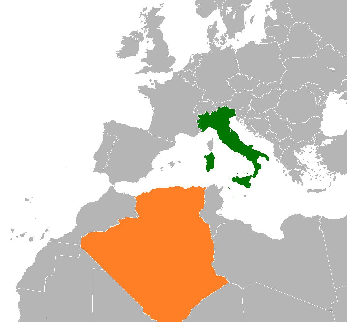 Image of: Algeria Italy Relations Wikipedia