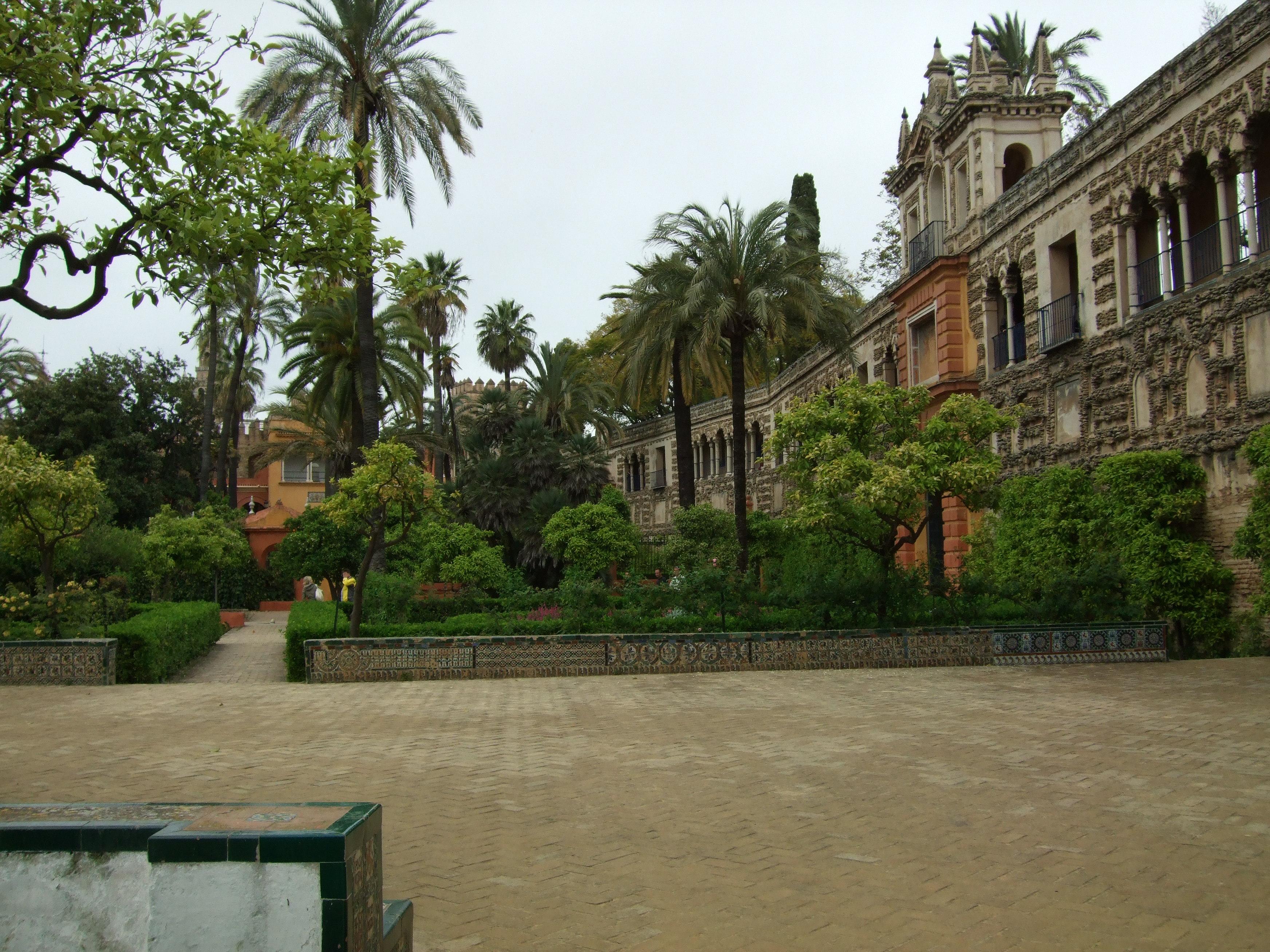 File jardines del alc zar de sevilla wikipedia - Jardines verticales sevilla ...