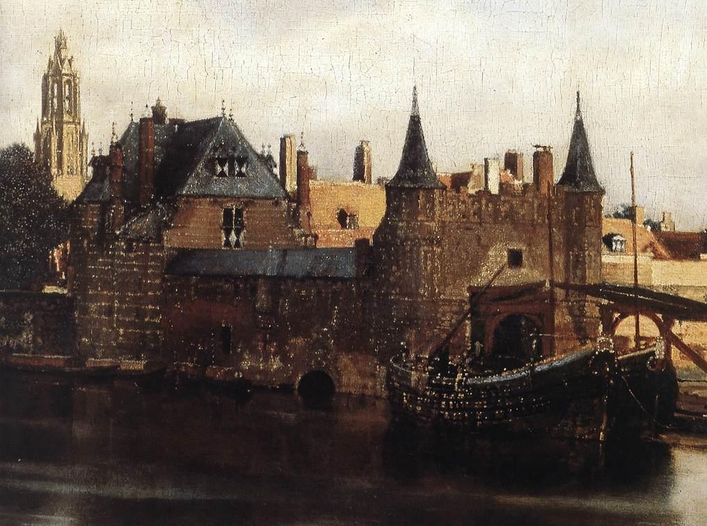 Vermeer, vue de Delft, domaine public