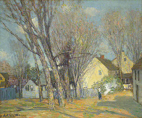 J Alden Weir  Artist Fine Art Prices Auction Records