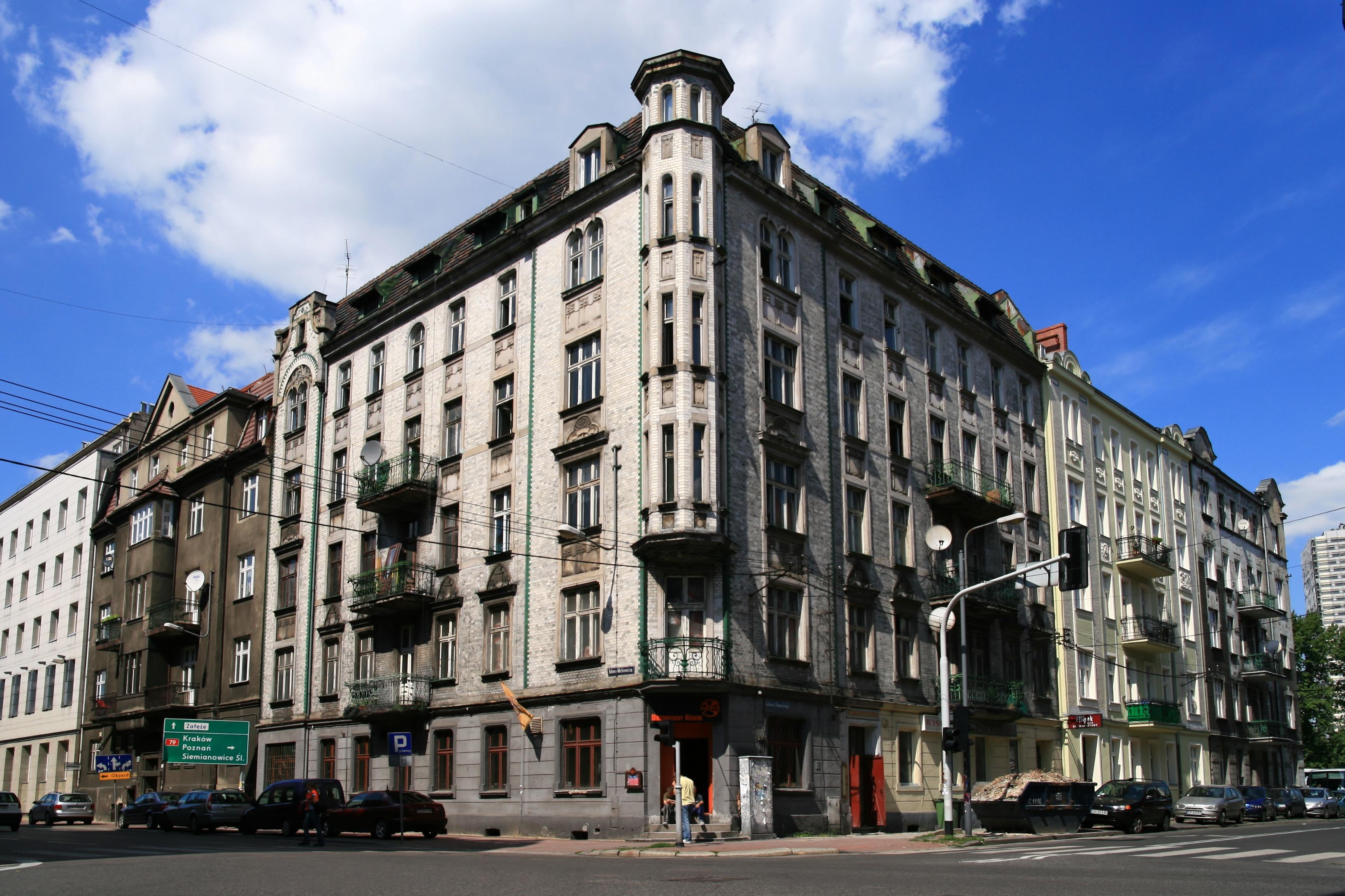 Ulica Juliusza Słowackiego w Katowicach