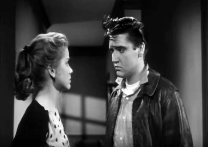 King Creole 1958 (Elvis Presley and Dolores Hart).JPG