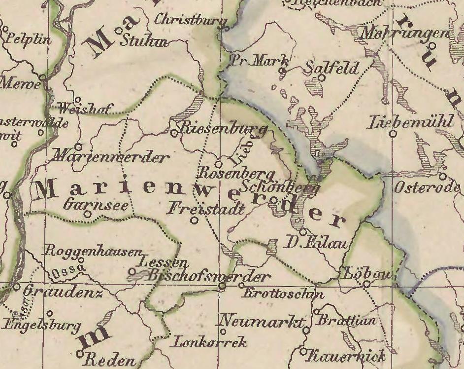 Bildergebnis für Graudenz Marienwerder landkarte