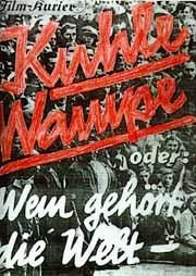 Cartel de Kuhle Wampe.