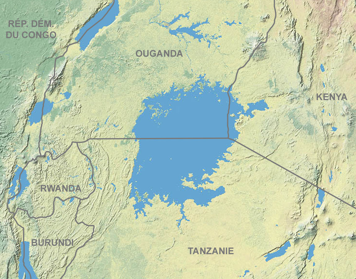 Lake Victoria On Map Of Africa.File Lake Victoria Vegetation Map Fr Jpg Wikimedia Commons
