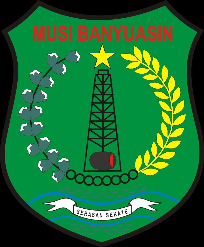 File Lambang Kabupaten Musi Banyuasin Png Wikimedia Commons