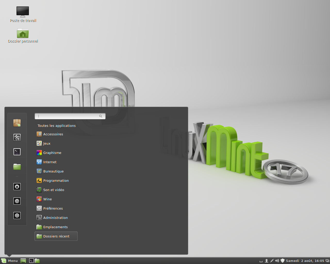 File:Linux Mint 17 Cinnamon Edition French.png - Wikimedia Commons