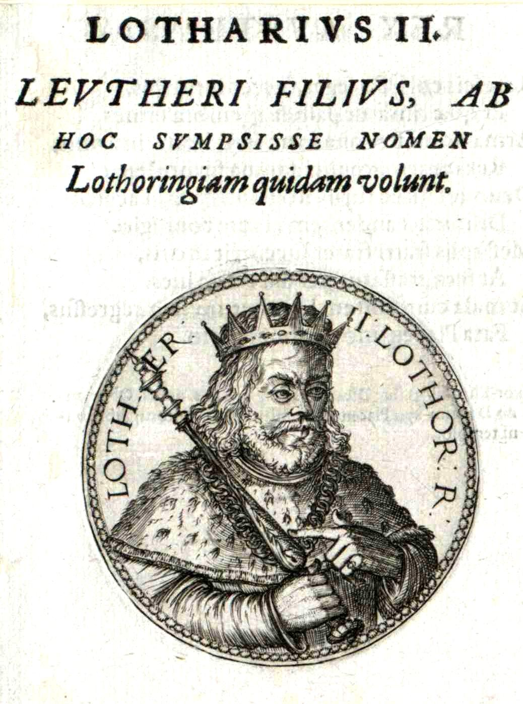 File Lothar Ii Konig Von Lothringe Jpg Wikimedia Commons