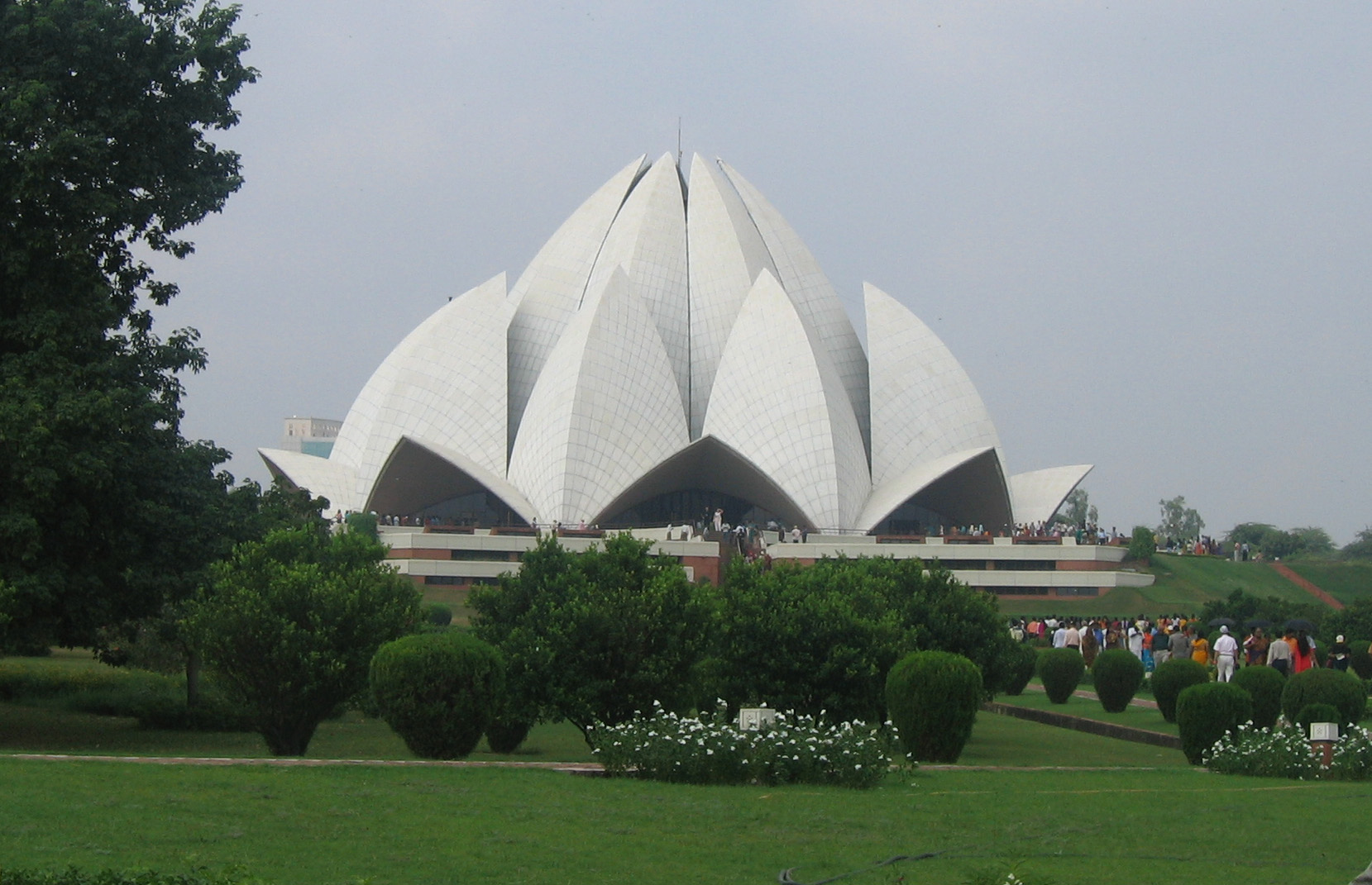 File Lotus Temple Delhi Various Views 15 Jpg