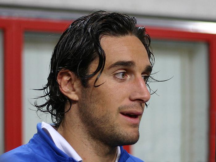 Luca Toni nel 2006