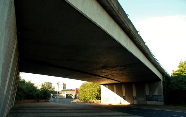 File:M3 flyover, Belfast - geograph.org.uk - 1519569.jpg